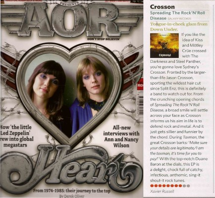 Classic Rock AOR Magazine October 2013